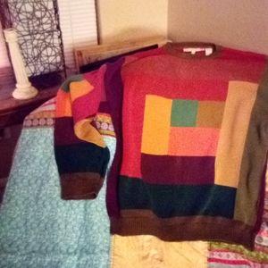 Men's long sleeve sweater Perry Ellis size Medium